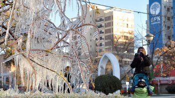 Una mañana congelante: la mínima fue 3,9°C bajo cero