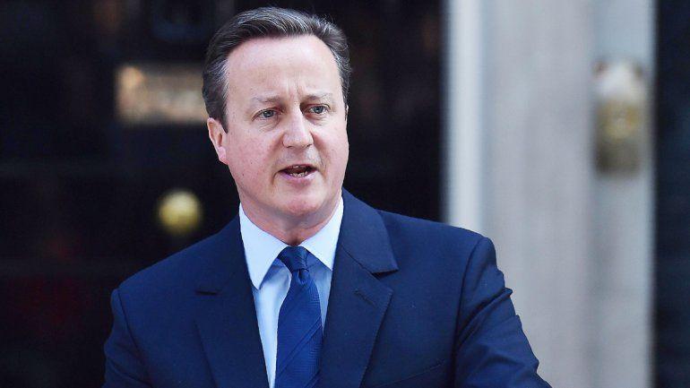 El primer ministro David Cameron