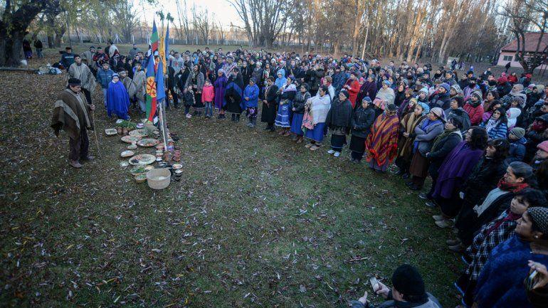 El Wiñoy Xipantu es un rito ancestral que representa la renovación del ciclo de la naturaleza.