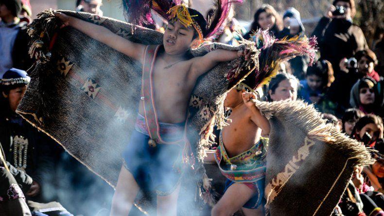 Celebraron el Año Nuevo Mapuche a orillas del Limay