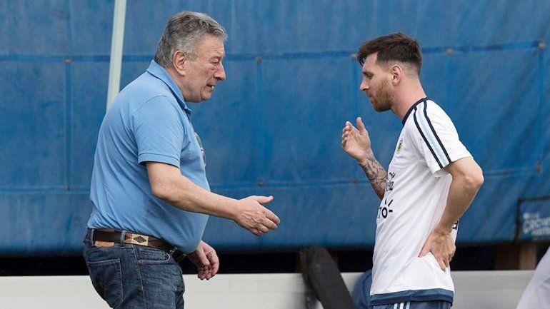 Las críticas de Messi a AFA le dieron el golpe de gracia a Segura.