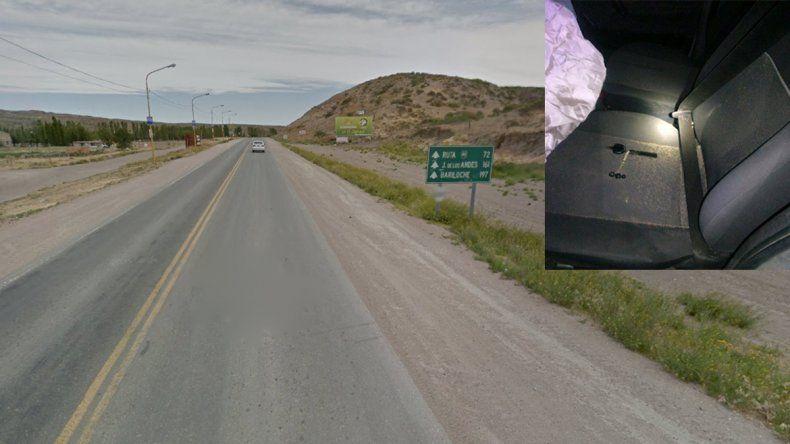 Piedra del Águila: un joven murió tras volcar y salir despedido del auto