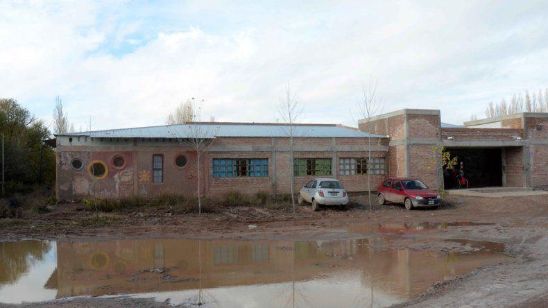 La escuela Nuestra Señora de la Guardia.