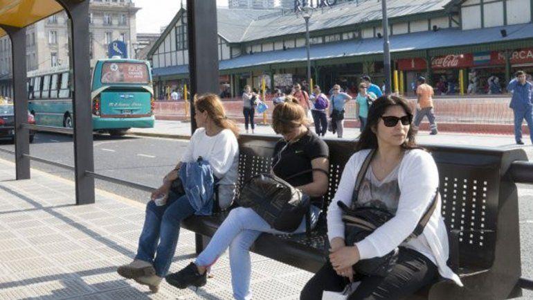 Los usuarios del transporte público