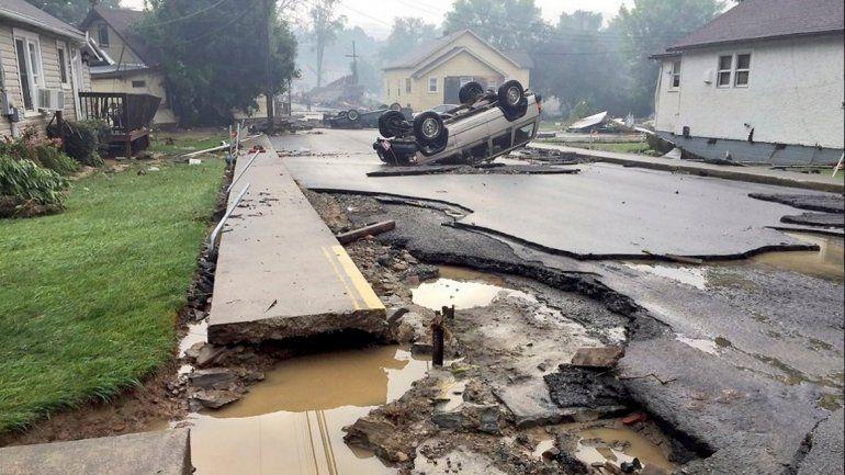 Una inundación en Virginia dejó al menos 24 muertos