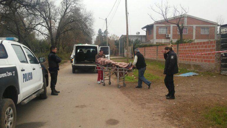 El asesinato se produjo en la localidad de Moreno