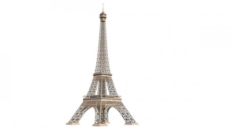 La magnífica torre Eiffel es la reina de las selfies