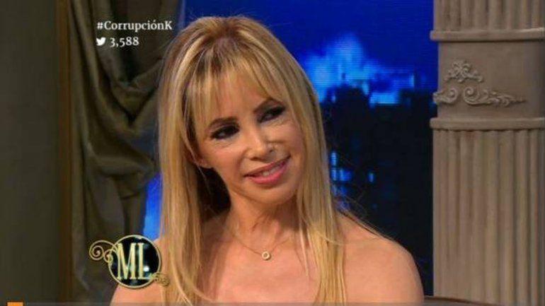 Herrera se mostró sonriente más allá de las preguntas incómodas de Mirtha.