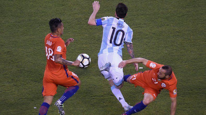 El partido se inclina levemente a favor de la Argentina