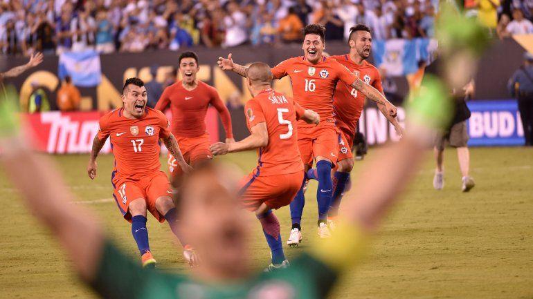 Los chilenos ganaron la Copa América y ratificaron su supremacía en el continente.