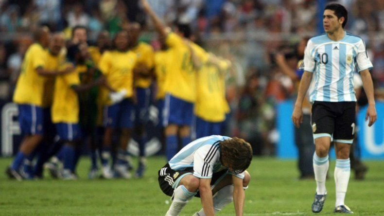 Otra vez Brasil y una goleada inesperada