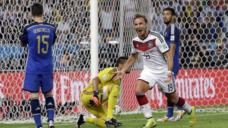El gol de Götze
