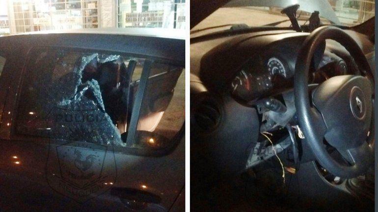 Lo descubrieron robando un auto en el bajo neuquino.