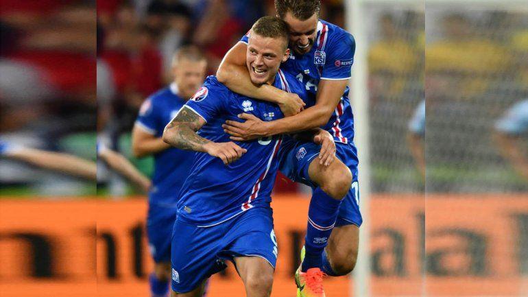 Islandia elimina a Inglaterra y jugará con Francia en cuartos