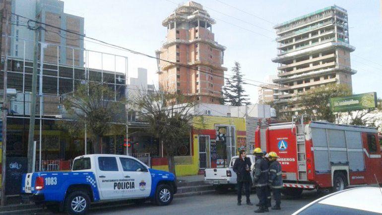 El lugar donde ocurrió el accidente.