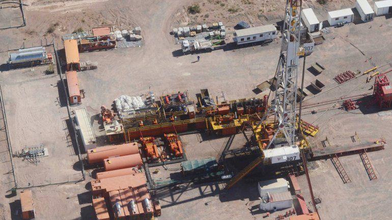 Vaca Muerta. Un pozo horizontal en el shale neuquino ronda los 14 millones de dólares.