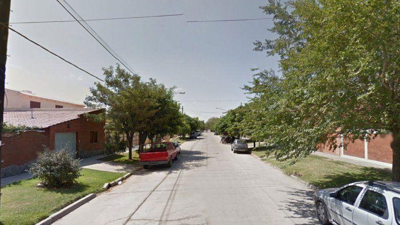 La vivienda adonde acudió la Policía por la denuncia del falso robo está sobre calle Andalgalá