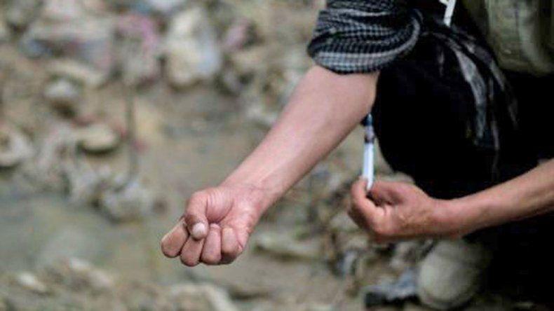 En EE.UU. afirman que el avance de la heroína es terrible.