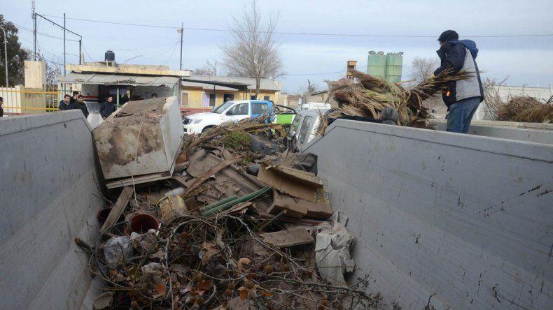 El Municipio abrirá un Centro de Transferencia para que la gente no arroje más los residuos voluminosos en plena calle.