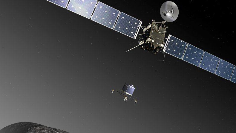 La misión Rosetta fue la primera diseñada para orbitar y aterrizar sobre un cometa.