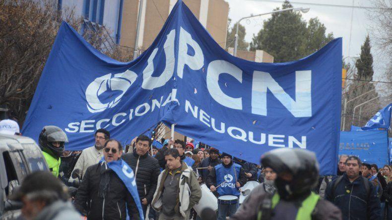 UPCN denuncia represión policial y convoca al paro