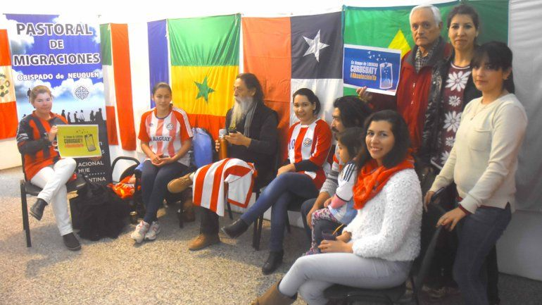 Comunidad paraguaya de Neuquén en poyo a los presos de Curuguaty