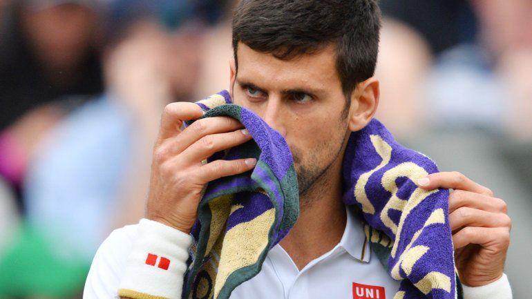 El serbio perdió la posibilidad de ser el segundo tenista en ganar los cuatros Grand Slam en un año.
