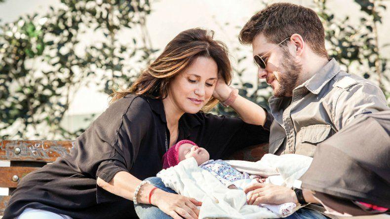 La actriz está casada con el músico Ricky Diotto. Aseguran que la llegada de Giovanna les cambió la vida.