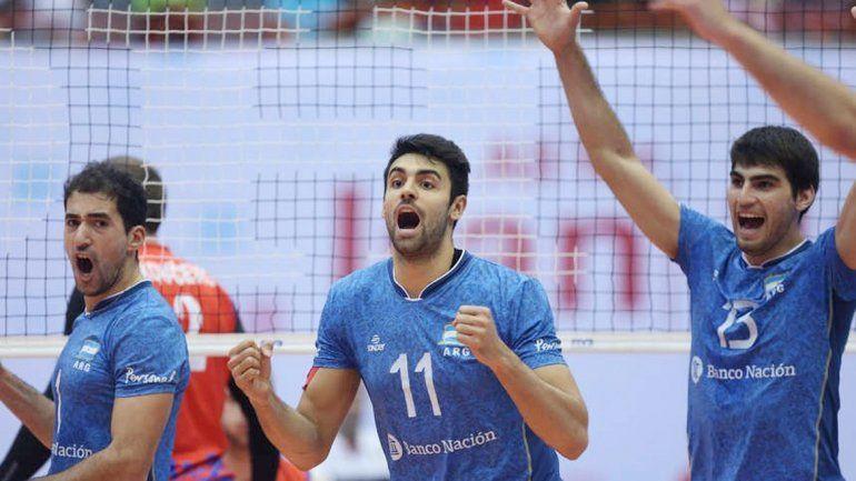 El equipo de Julio Velasco le ganó al subcampeón de la Liga Mundial.