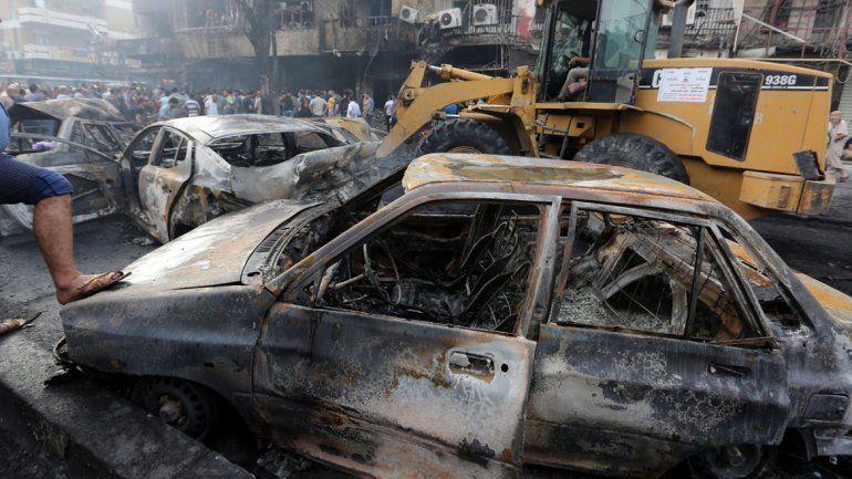Al menos 119 muertos en un atentado de Estado Islámico en Bagdad