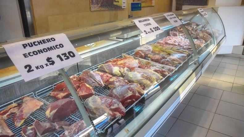 Precios por las nubes en cortes de carne, quesos y verduras