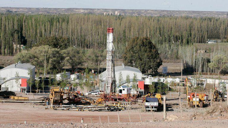 La actividad petrolera en la ciudad se compone de empresas de servicios petroleros
