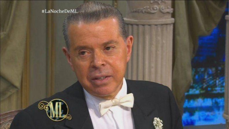 Oyarbide contó en lo de la Chiqui que se casará con su novio.