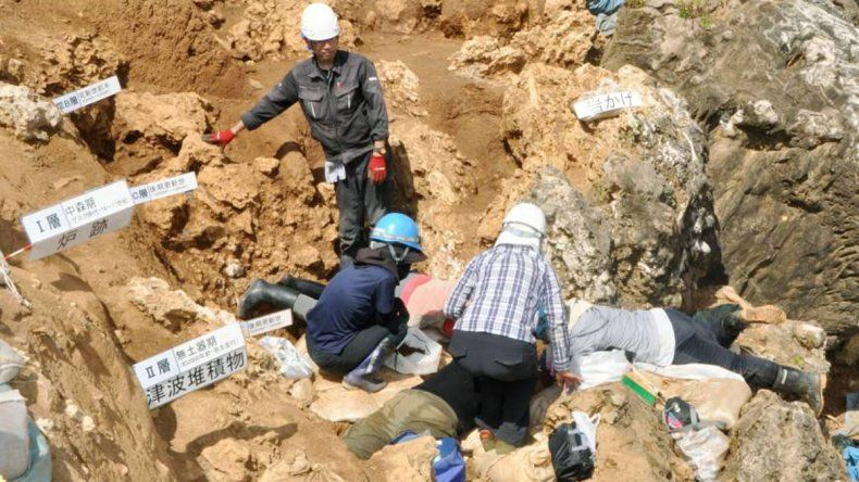 Encontraron restos humanos de más de 24 mil años en Japón
