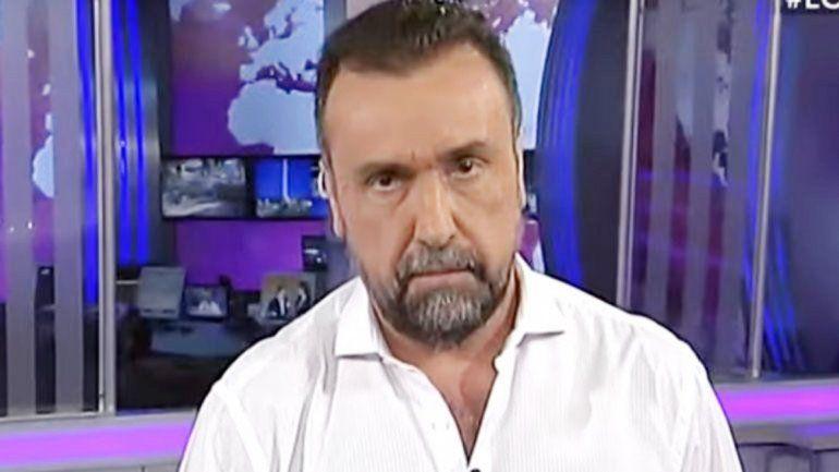 Navarro fue el primer periodista en entrevistar a CFK tras su presidencia.