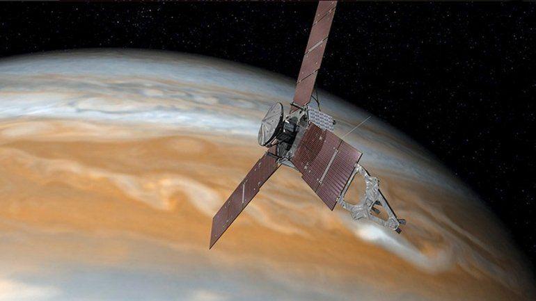 Tras cinco años, la sonda Juno llegó a la órbita de Júpiter