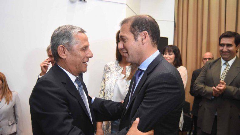 Quiroga y Gutiérrez se han cruzado públicamente por temas de gestión. Hoy podrán decirse las cosas en la cara.