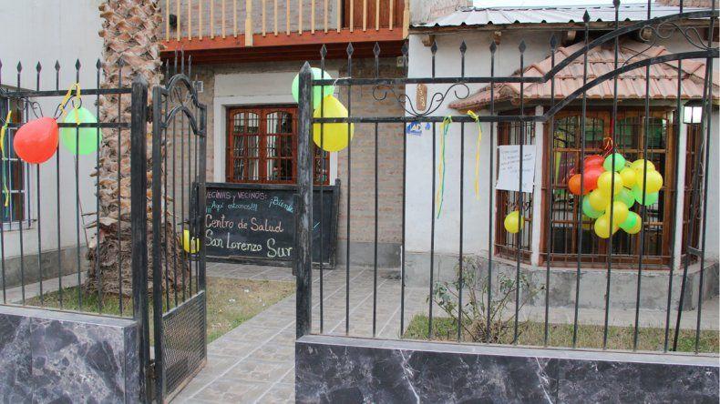 Provisoriamente funcionará el Centro de Salud de San Lorenzo Sur en Canal V.