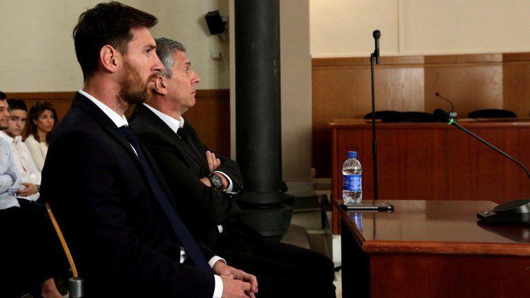 Messi fue condenado a 21 meses de prisión por fraude fiscal.