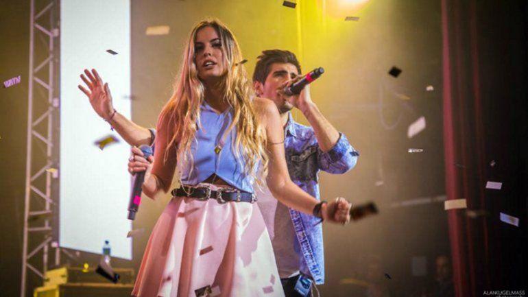 La carismática cantante dijo que el grupo andaba a las corridas.
