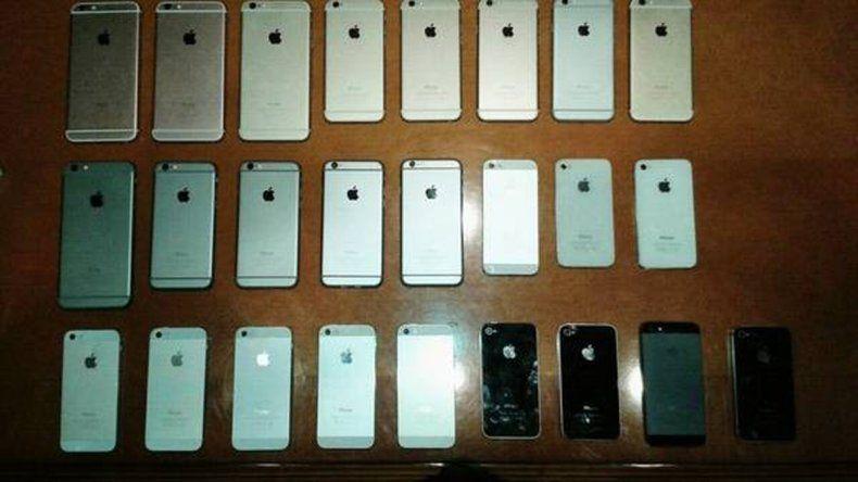 El supuesto especialista se tentó y mordió la Apple: lo descubrieron.