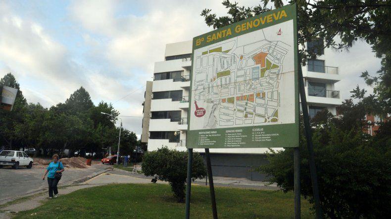 El barrio Santa Genoveva sigue siendo blanco de los delincuentes.