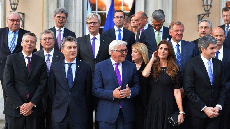 Macri y la primera dama