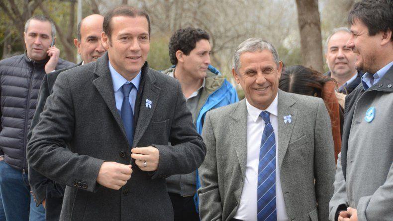 El gobernador y el intendente dejaron de lado las diferencias