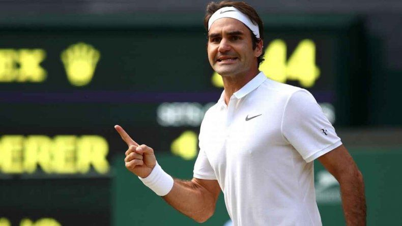 Federer superó a Cilic en el tie break y avanzó a semifinales.