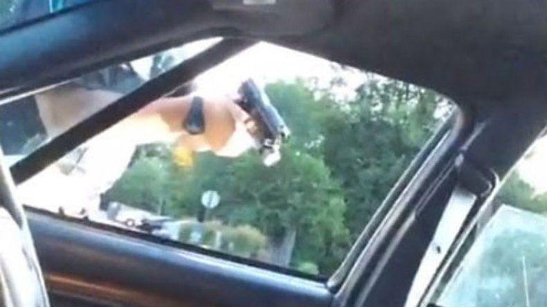 La novia del asesinado filmó todo con su celular y lo subió en vivo a Facebook Live. El video es estremecedor.