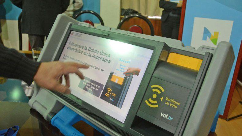 El sistema debutó en las últimas elecciones de Neuquén capital.