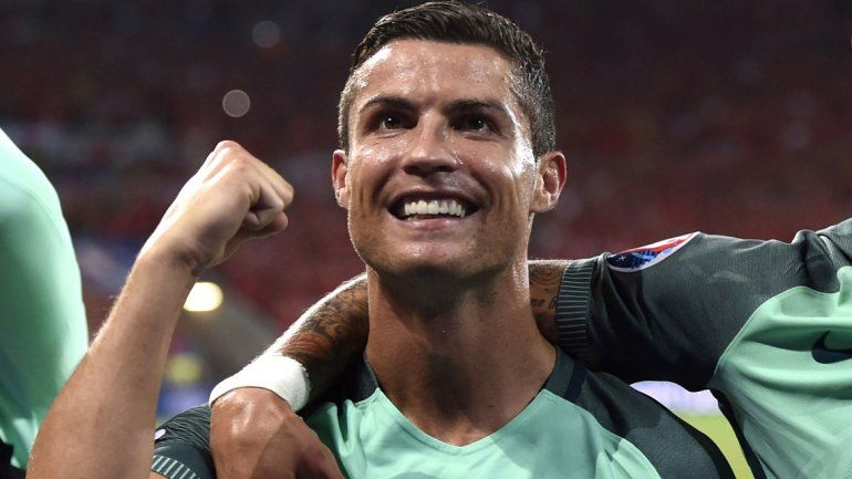 Cristiano Ronaldo enfrenta su segunda final de la Euro.