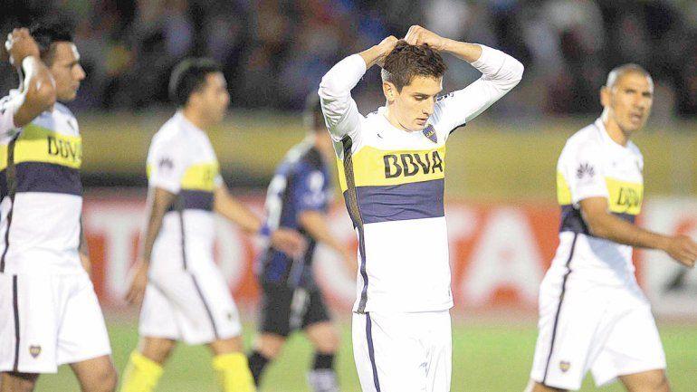 Boca se vio superado en el complemento ante un Independiente que se movió como pez en el agua en la altura. Angulo