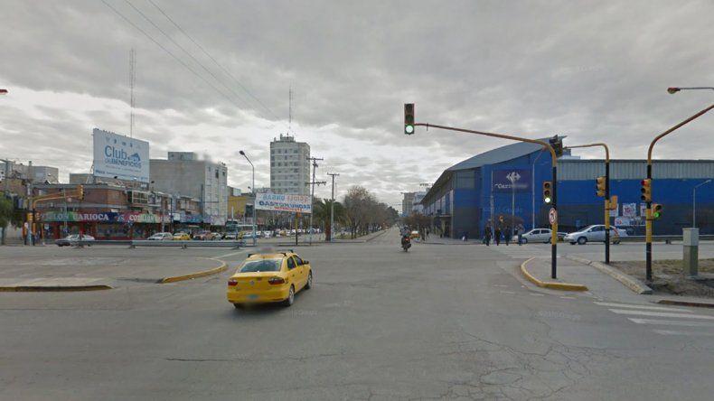 Avenida Olascoaga y Ruta 22.